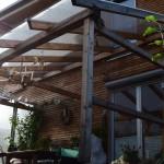 Terrassen überdachung